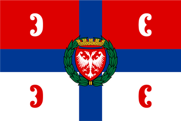 Design Flag. People's Republic of Serbia. No3 by resistance-pencil