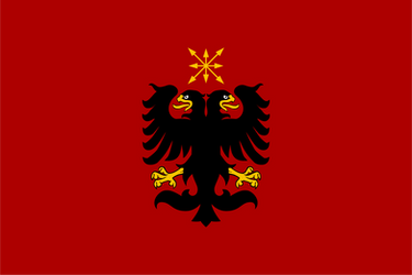 Design Flag. Albanian People's Republic of Eurasia by resistance-pencil