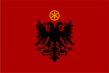 Design Flag. Illyrian People's Republic by resistance-pencil