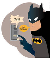 I'm Batman by ShinySushi