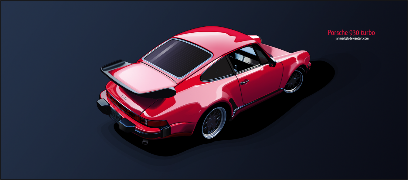 Porsche 930 Turbo by janmarkelj