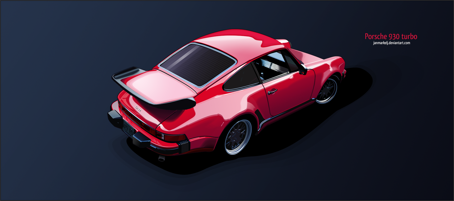 Porsche 930 Turbo by janmarkelj