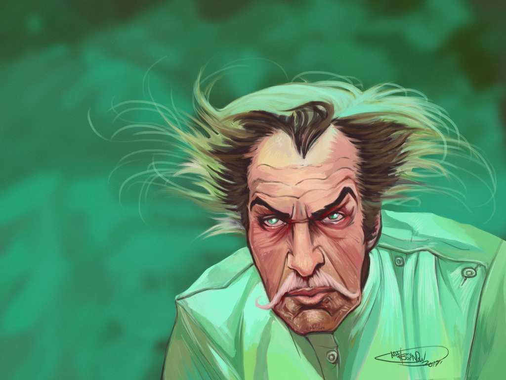 Vincent Price - Theatre Of Blood - Master Study by NoahBDesign