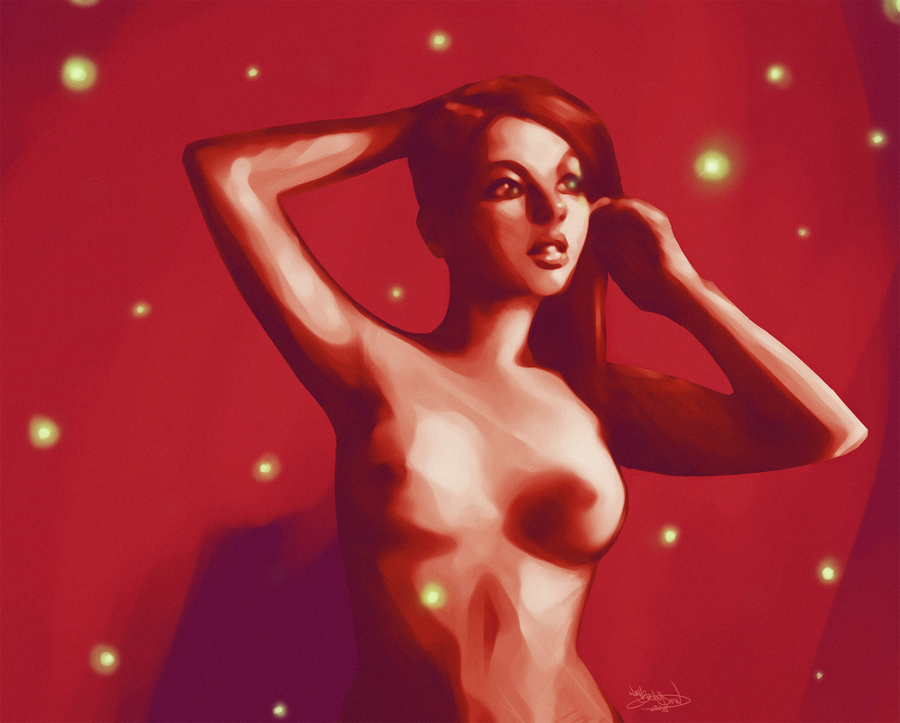 Angel Red by NoahBDesign