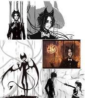 Bendy(Sketches) by Lozanica