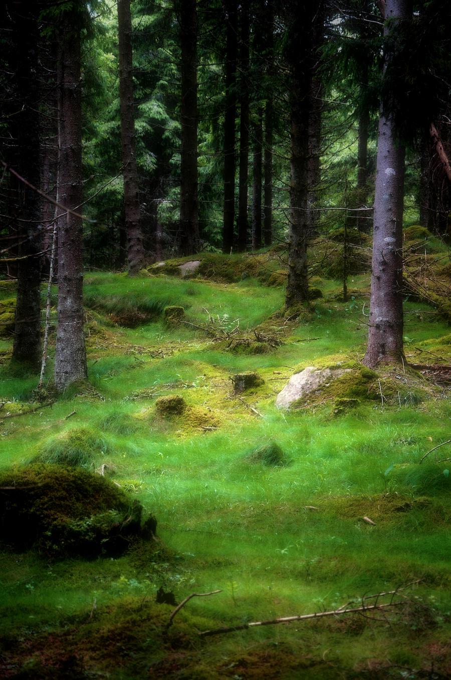 When it's green by RavensLane