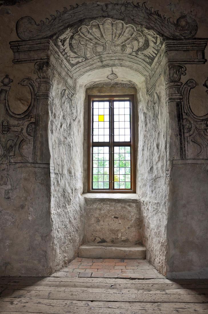 Castle window ii by ravenslane on deviantart for 2 window