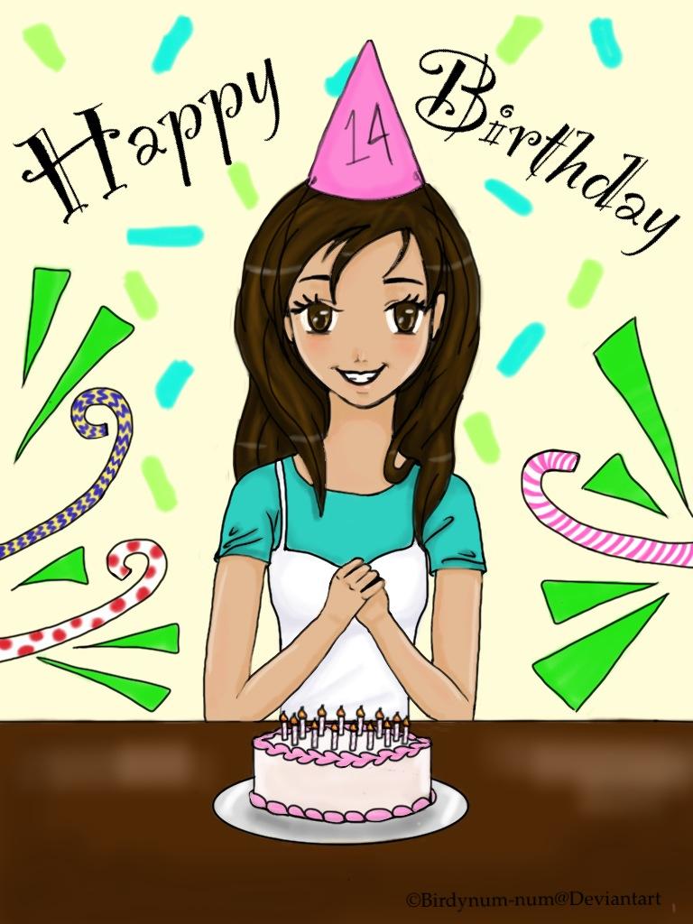 Happy Birthday! by Birdynum-num