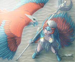 Sorceress by visenna-chan