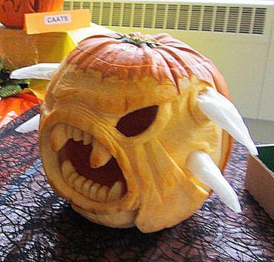 2014 Pumpkin Monster by plushbug