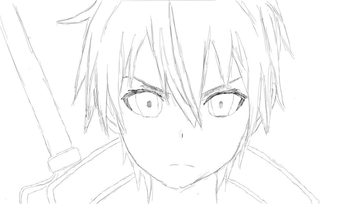 Kirito - Sketch By HyunJunLee On DeviantArt