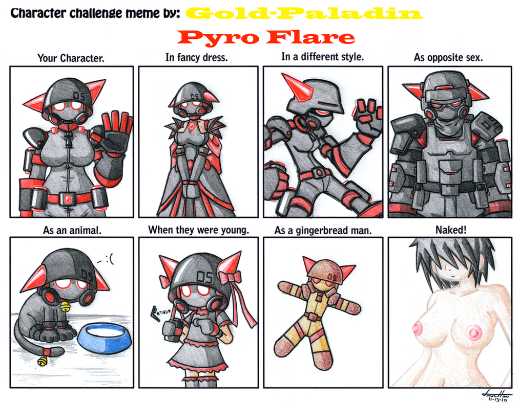 Meme: Pyro Flare by Gold-Paladin