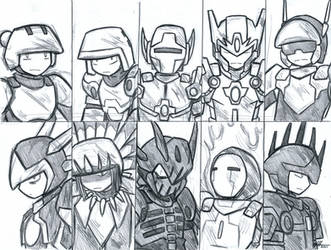Terraria Warriors by Gold-Paladin