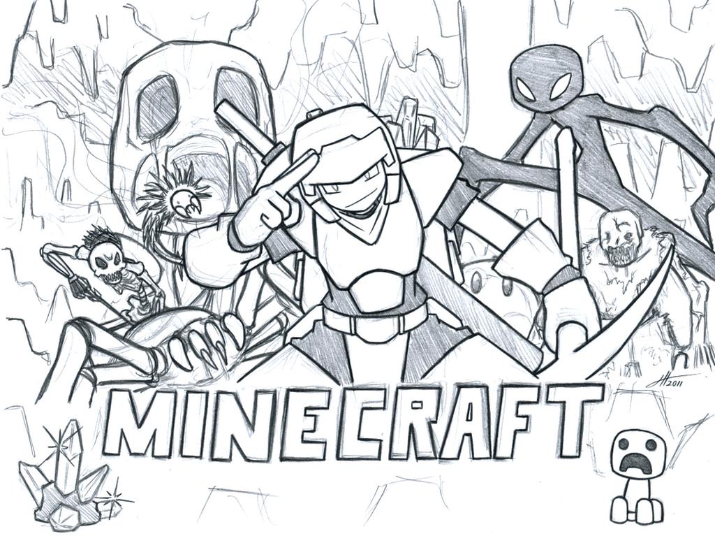 Minecraft Wallpaper By Lordsarito Fan Art Games