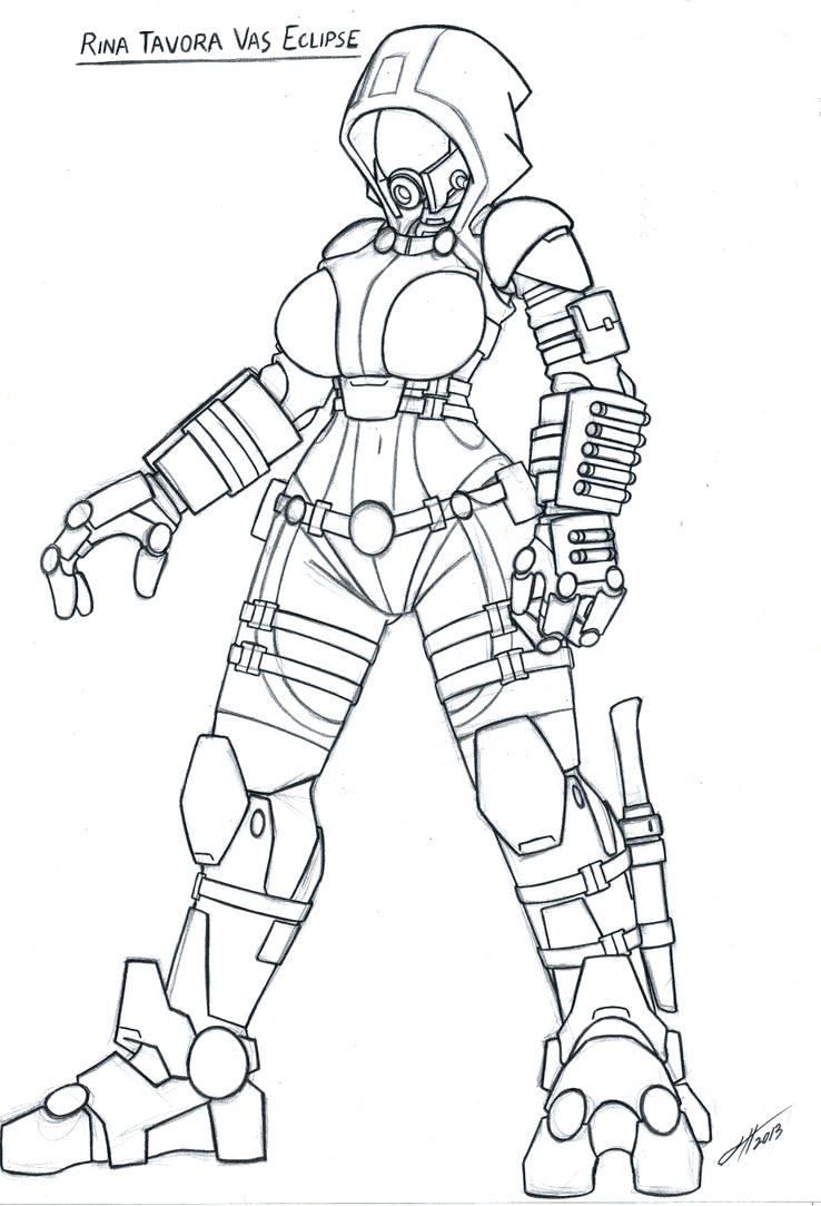 mass effect 3 coloring pages - photo#29