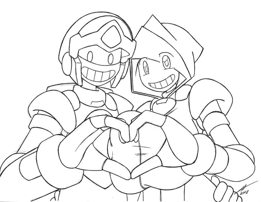 Valentine Couple by Gold-Paladin