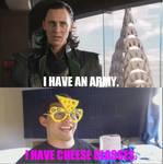 Loki VS. Markiplier: I Have Cheese Glasses