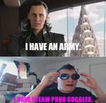 Loki VS. Markiplier: I Have Steam Punk Goggles