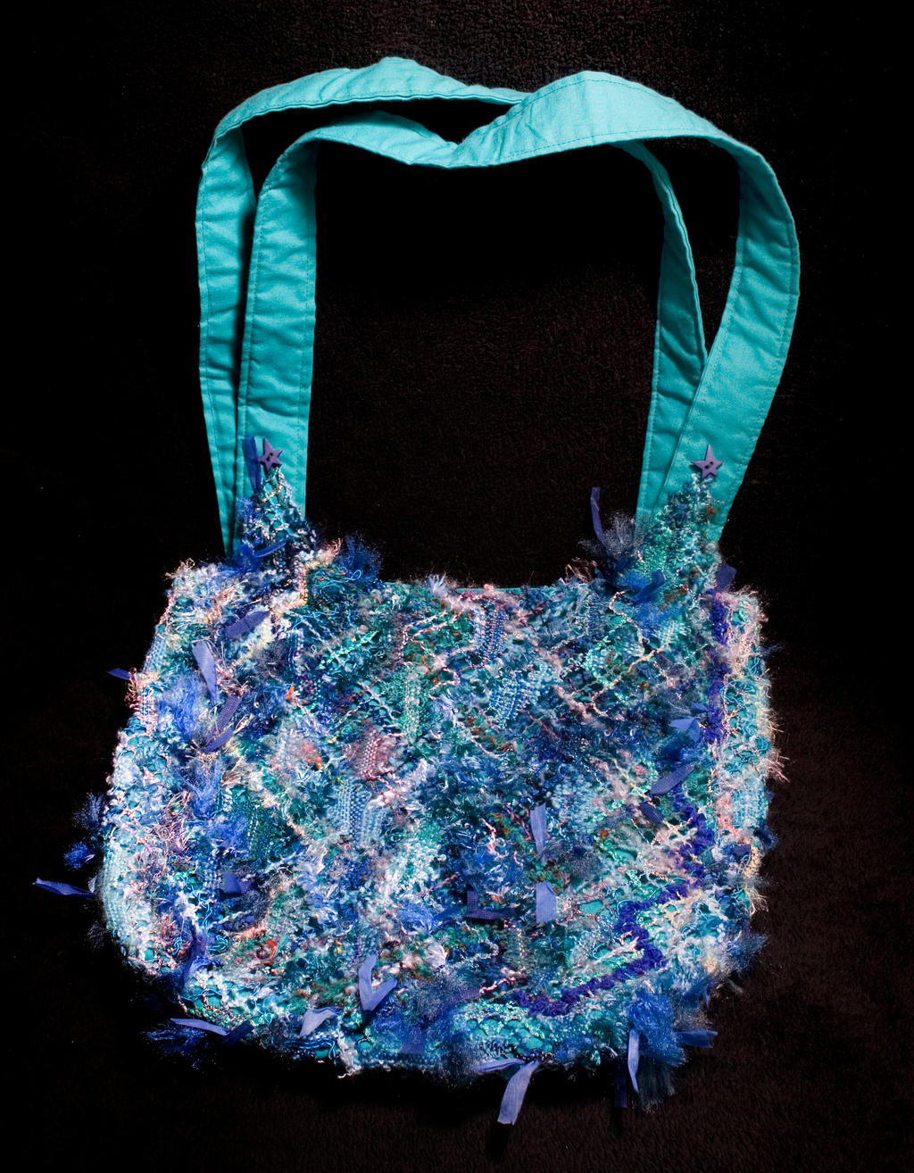 bobbin lace embellished bag 1 by averil-hylton