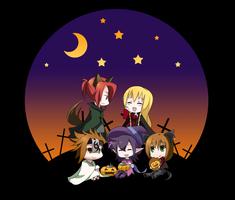 ToDA: Halloween Chibi by ichigolollipop