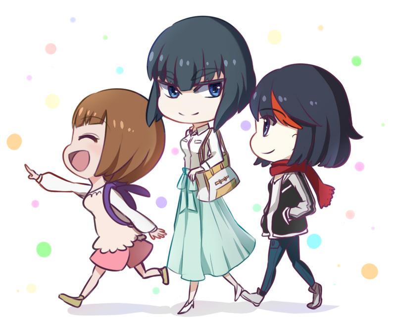 Kill la kill: Let's Go On A Date!! by ichigolollipop