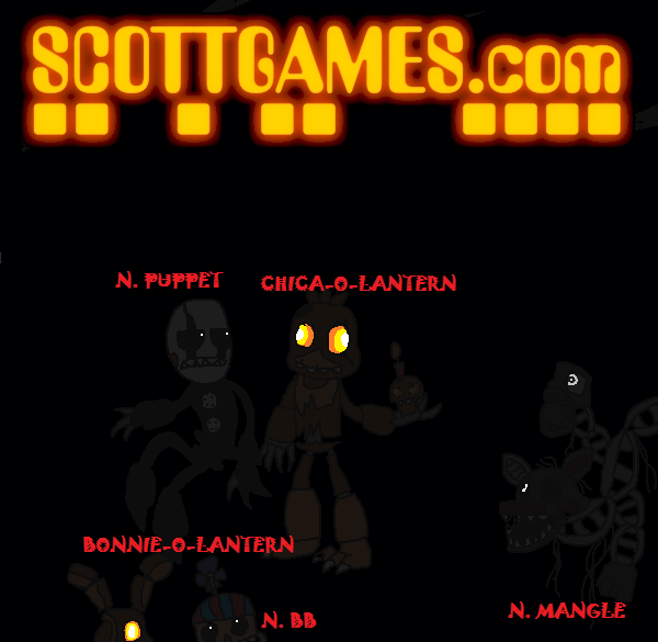 All Of The Halloween Animatronics For Fnaf 4 DLC!! by ...