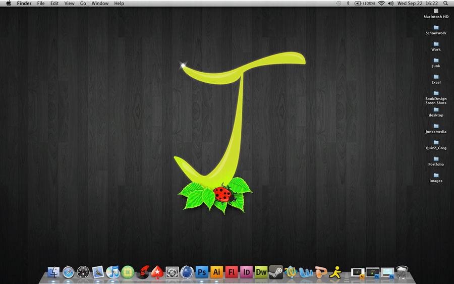 My desktop for now