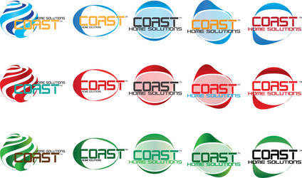 Coast, Logo Concepts w Colors