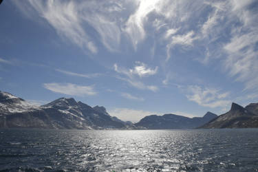 Greenland From The Sea