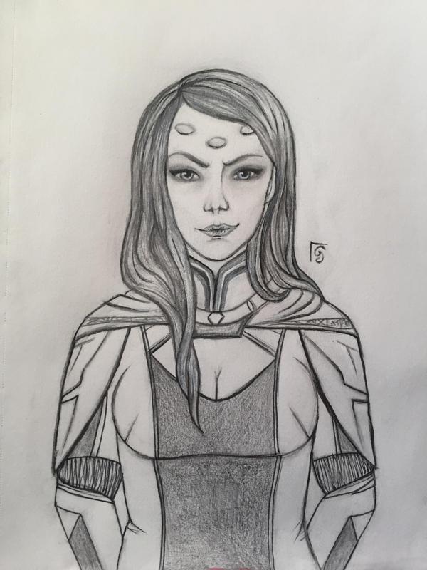 Empress Vaylin by PaleRoses