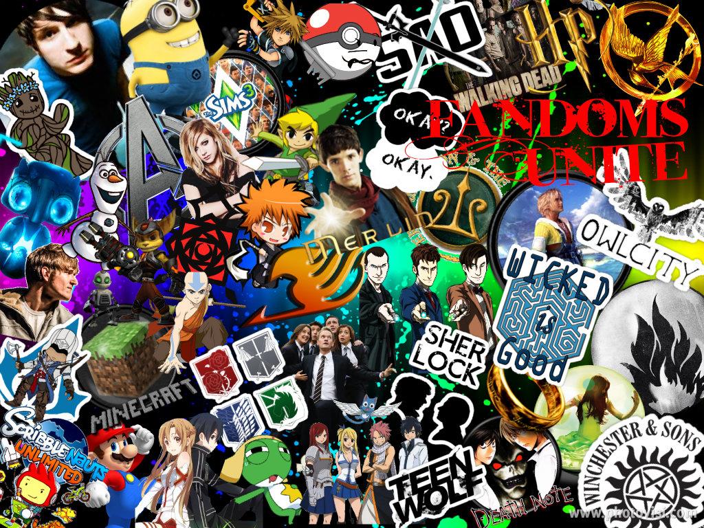 Fandom Wallpaper 4 By OwlOdyssey