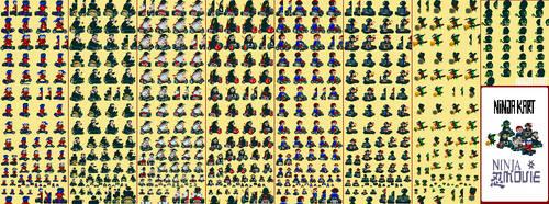 Ninja Game by vaguener