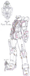 MP Psyco Gundam by TheGloriesBigJ