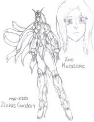 Zero Murasame by TheGloriesBigJ
