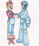 I Support Megaman in SSB4