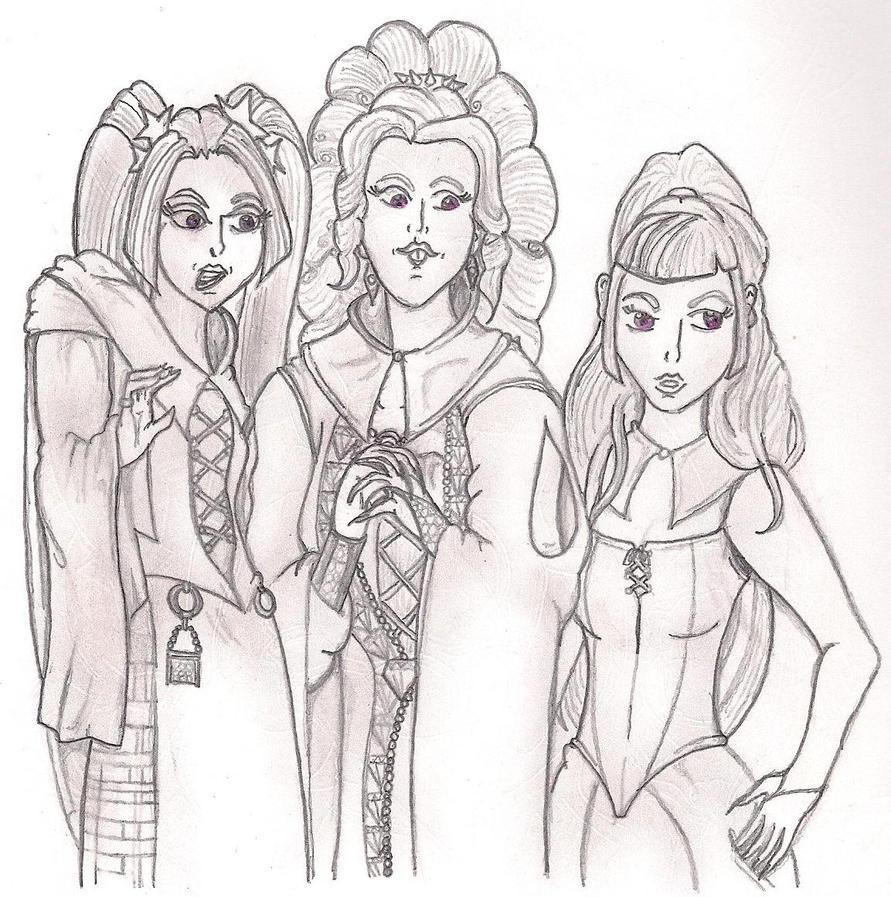 The Siren Sisters by TheGloriesBigJ
