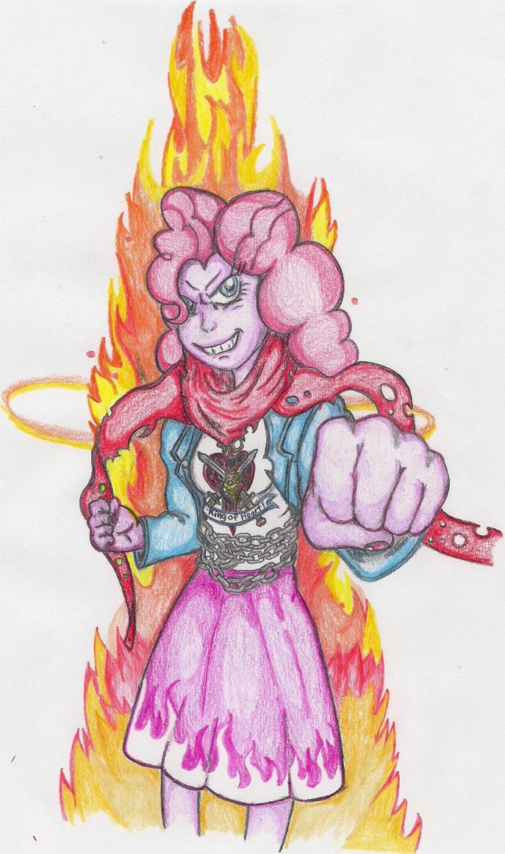 Hotblooded Pinkie is Ready by TheGloriesBigJ