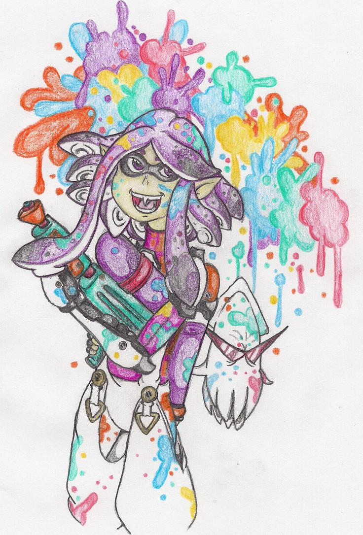 I want Splatoon by TheGloriesBigJ