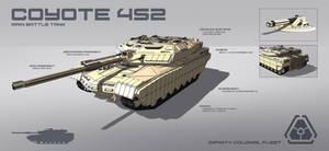 Coyote 4S2 Main Battle Tank