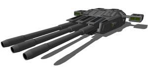 Overlord MkV - Heavy plasma cannon