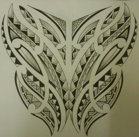 Samoan Art Designs : Samoan tattoo design by ajd on deviantart