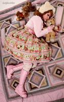 Little Bears Cafe IV by harlyharlekin