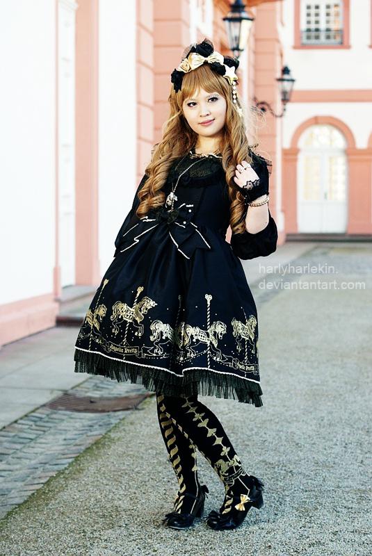 Twinkle Carnival Black Princess by harlyharlekin