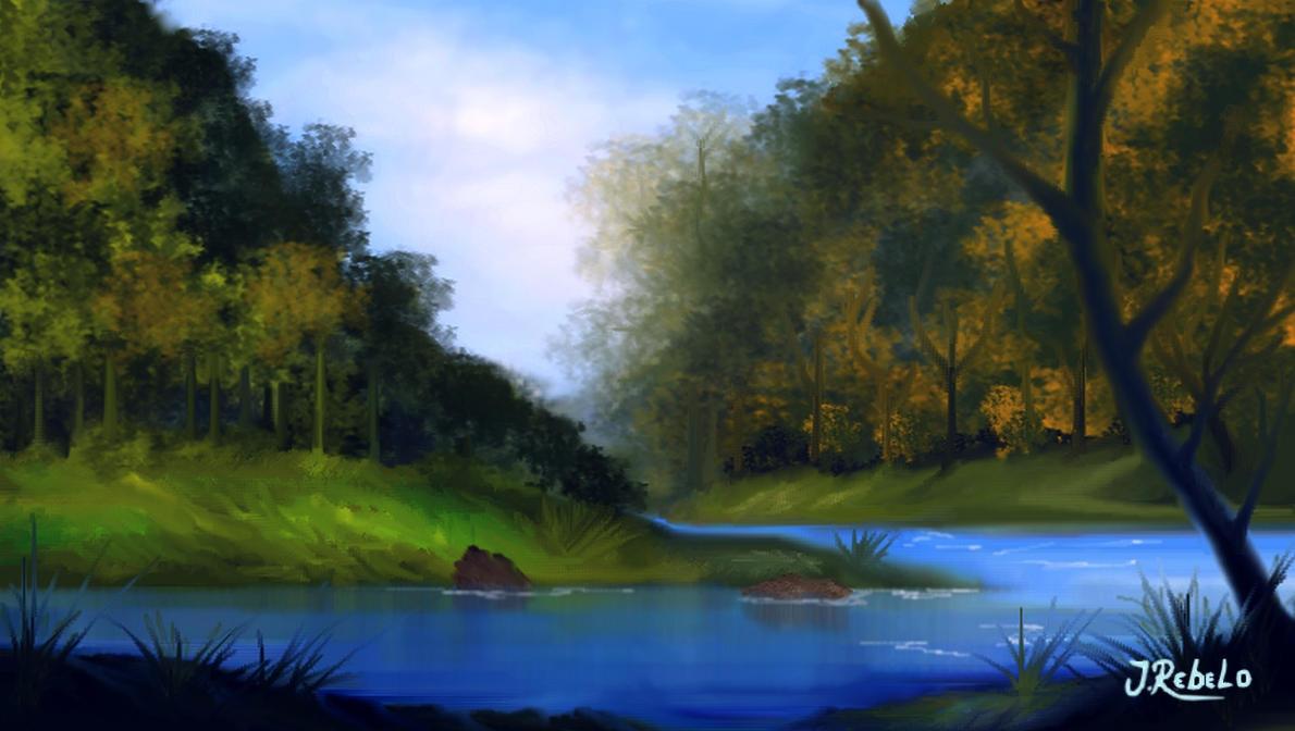 ☼ La Rivière de la Roche ☼ Riacho_no_paraiso_by_zoltan50-db2afx8
