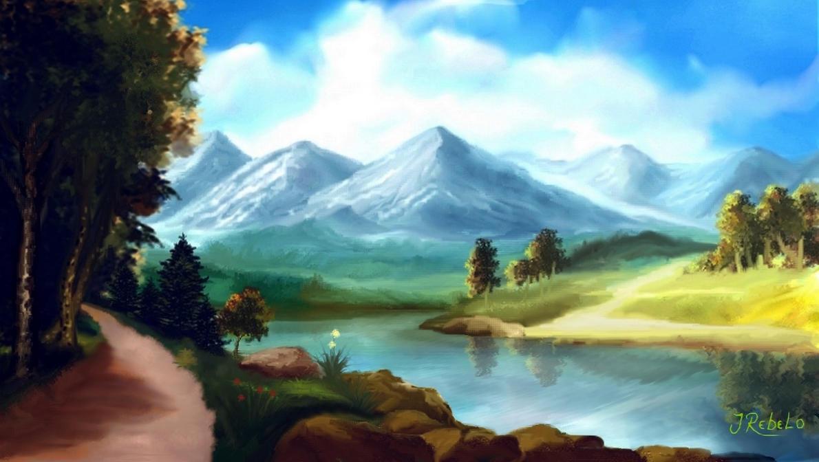 ☼ La Rivière de la Roche ☼ Montanhas_brancas_by_zoltan50-db2enar