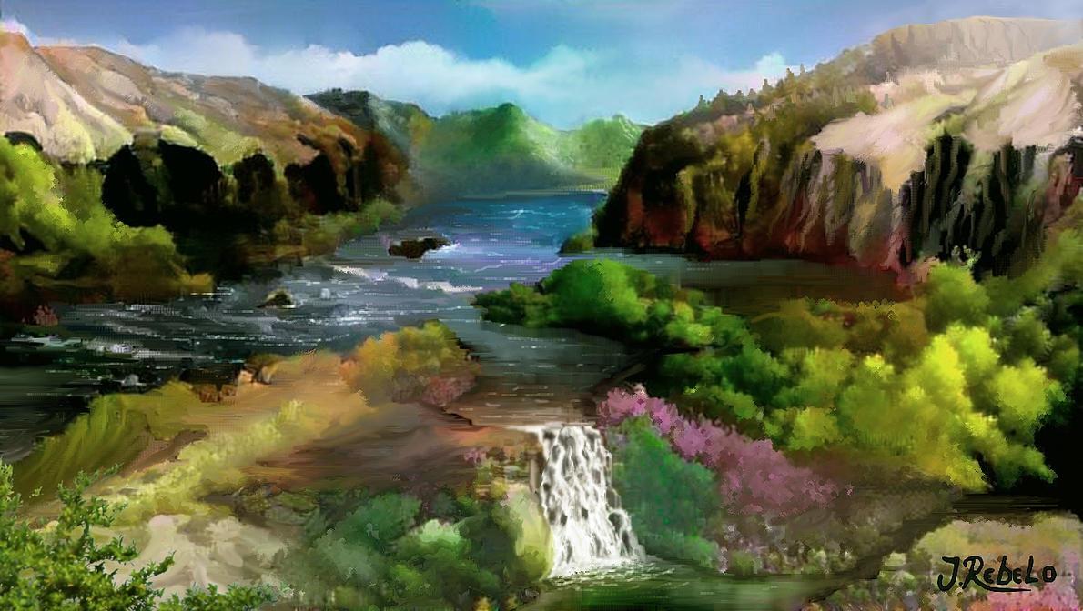 ▽ Les chutes magistrales ▽ Vale_by_zoltan50-db5ur62