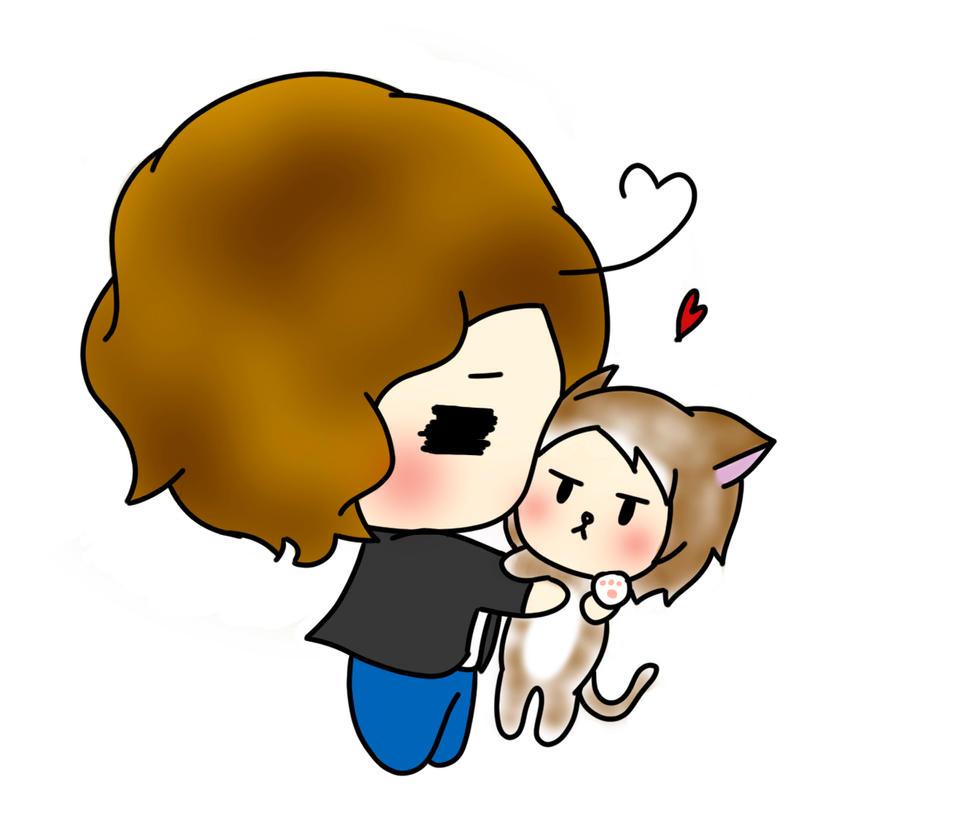 I love you, neko chan by NetsuKirkland
