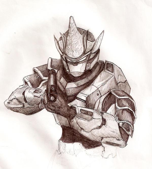 Hyabusa Armor by JusDrewIt