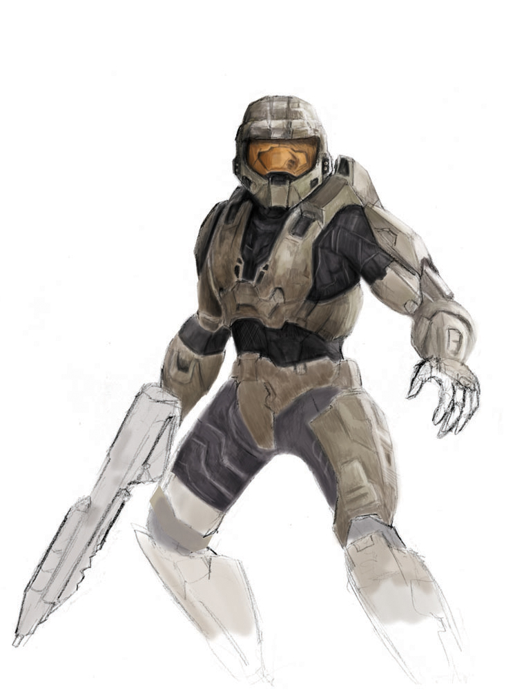 Master Chief by JusDrewIt