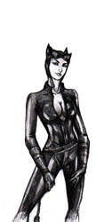 Catwoman by JusDrewIt